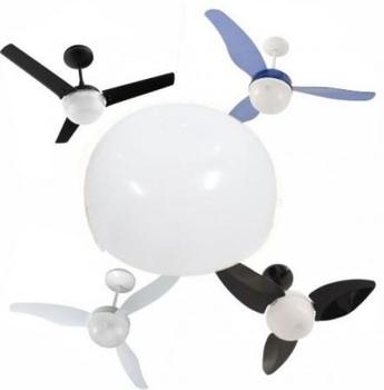 Globo Cúpula Plástica para Ventilador Aliseu Geo Smart Alisclean - Cúpula Plastica do ventilador Ali