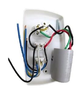 Chave para Ventilador De Teto 110v/127v 3Vel C/Capacitor 08,5uF (2,5+6,0mF) - para Ventilador Tron 1
