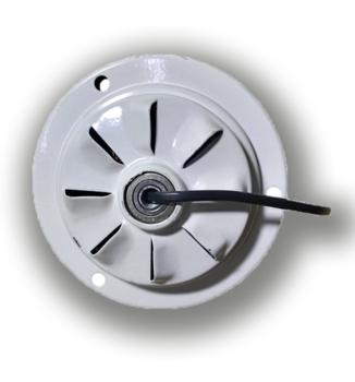 Motor do Ventilador de Teto Arge Economic 3Pás Branco 127v - Modelo Economic para usar c/Luminária -