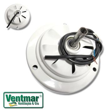 Motor do Ventilador de Teto Arge Arge Economic 3Pás Branco 220v - Modelo Economic para usar c/Luminá