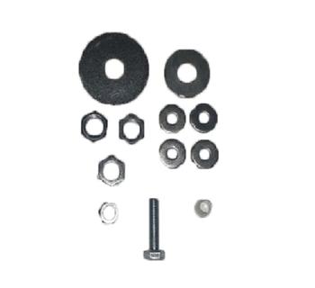 Kit de Montagem Motor Ventilador Volare - Parafuso + Haste + Arruelas - Reforçar Lustre