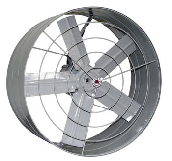 Exaustor de 50cm Venti-Delta 220volts Monofásico - c/Chave de Reversão - Vazão 6.500m3/h - Exaustor Elétrico Axial Hélice 5Pás