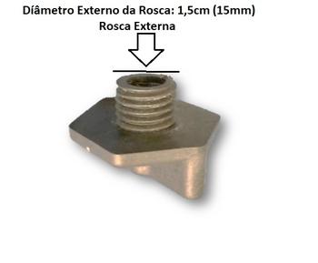 Tampão Dreno do Climatizador Ventisol CLI-01 / CLI-02 - Diâmetro da Rosca 1,50cm / Comprimento da Rosca 1,0cm