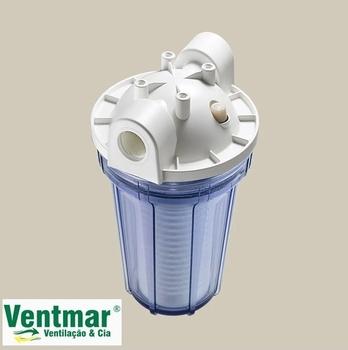 Filtro de Água Loren Acqua Ponto De Uso - Loren Acqua 5Polegadas p/Maquinas - Transparente