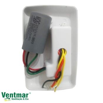 Chave para Ventilador de Teto RioPreLustres 127v - Chave para Ventilador de Teto Loren-Sid 127v - c/