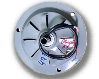 Motor do Ventilador de Teto Arge Arge Economic 3Pás Cinza 127v - Modelo Economic para usar c/Luminár
