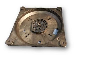 Base Inferior Liquidificador Vitalex 4 Litros Cor Preta - Serve p/6 8 e 10 Litros - Peça Base x Moto