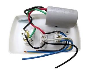 Chave para Ventilador de Teto Loren Sid 3Velocidades 110v Motor M3 - Chave para Ventilador Tron 110v