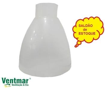 Globo da Luminária Ventilador Primavera - SALDÃO DE ESTOQUE - PEQUENOS DEFEITOS *