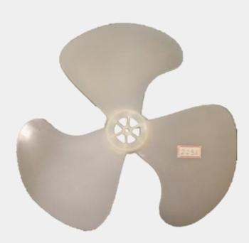 Hélice para Ventilador Venti-Delta New Light 40cm 3Pás Plástica - Encaixe de 8,0mm - Fixada C/Porca