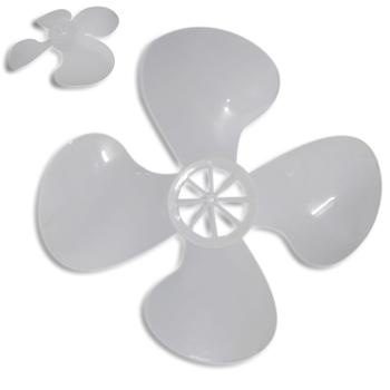 Hélice para Ventilador Venti-Delta Premium / Delta Gold 50cm 4Pás Plástica - Encaixe Eixo 10,0mm Ponta Redonda c/Trava Traseira