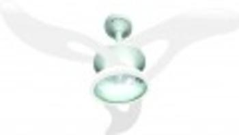 Pá Hélice Ventilador Planar Ac Vent - Plástica Branca - Pá Ventilador de Teto Ac-Vent Modelo Planar
