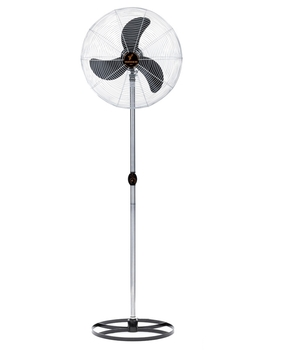 Ventilador de Coluna 65cm Ventisilva Preto Coluna Cromada Grade em Metal Cromado Bivolts - G/F - VCO
