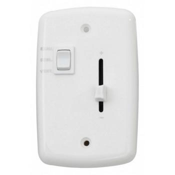Chave para Ventilador de Teto sem Luminária - Controle de Velocidade Deslizante + Tecla de Reversão