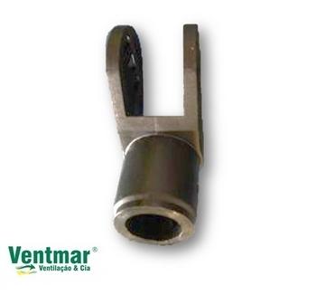 Suporte do Motor do Ventilador ARGE - SEM Arruela Trava Borboleta - Suporte Cachimbo Ventilador Vent New
