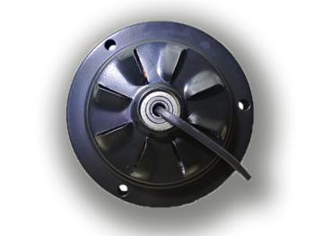 Motor do Ventilador de Teto Arge Arge Economic 3Pás Preto 127v - Modelo Economic para usar c/Luminár