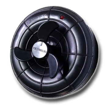 Chave Ventilador de Parede Ventisilva - Dimer Rotativo Bivolts Com Clique (Dimer 200W) CVVSV