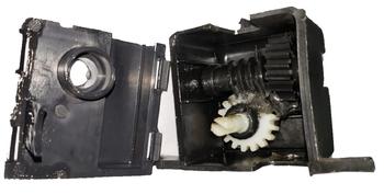 Caixa de Engrenagem Ventilador ARGE A-10 / A10 50/60cm - Caixa Maior Anterior