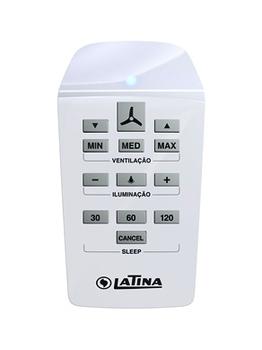 Controle Remoto Ventilador Latina 220 Volts KIT c/Módulo Transmissor/Receptor - Capacitor 02,5uF - M
