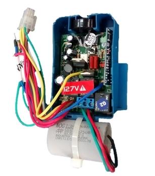 Módulo Receptor para Controle Remoto Latina 127v08,0uF (Luz Azul) - CREMLTNMR CREMVT