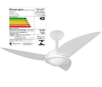 Ventilador de Teto Volare Premium Office 127v 3 Pás Íris Chave 3 Vel - Área Gourmet