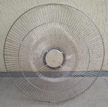 Grade para Ventilador Venti-Delta 60cm - Grade Metal Cromada 120Fios - Ventilador Coluna ou Parede - Serve p/Dianteira ou Traseira - Vendida p/Unidade