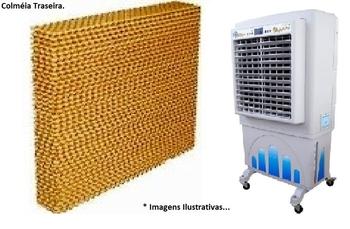 Colmeia para Climatizador Mega Brisa MB70 - MC70 Parte Traseira - A/P10 x L64 x C71,5cm - Painel Evaporativo para Climatizador Mega Brisa