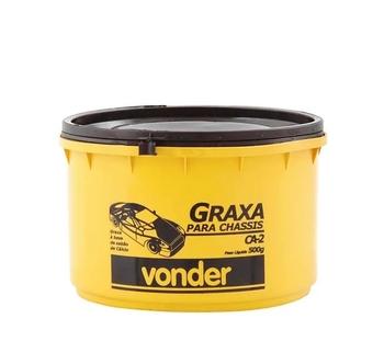 Graxa Uso Geral CA2 - Graxa para Chassis - 500 gramas