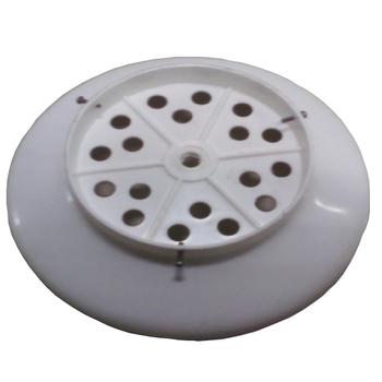 Plafon Base da Luminária do Ventilador de Teto Tron Búzios Branco - Bojo Plástico Búzios Max AT Bran