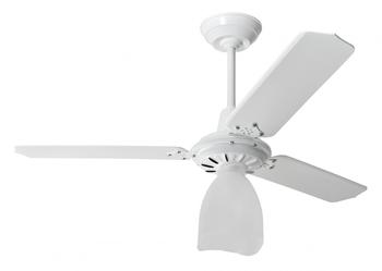 Ventilador de Teto Loren Sid Lumi 127V M2 Branco 3Pás Retas Brancas Globo LUMI PL VTLSDM2 - VTLU P03
