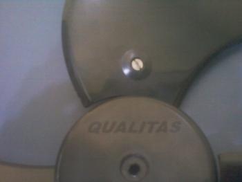 Hélice Ventilador QUALITAS 50CM (Kit 4 peças) HEL VO QLT50 3PÁS KIT 4PÇS PTO HELVOQLT HEL50 HELQLT
