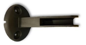 Suporte Para Ventilador de Parede Loren Sid - Plástico Preto - Suporte Parede Inj.Turbos PR - Modelos de 30 40 50 e 60cm