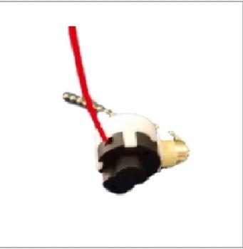 Chave para Ventilador de teto com Correntinha de 3 Velocidades Para Ventilador de Teto Importado - C