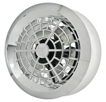 Exaustor de 25cm para Cozinha - Vazão 600m3/h - Exaustor para Banheiro - Loren Sid Bivolts Grade Dupla