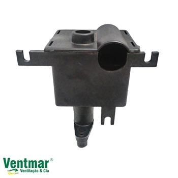 Caixa de Engrenagem Ventilador TRON Antigo 50/60cm - Sem Pino/Manípulo Puxador - Caixa Antiga Maior + Quadrada
