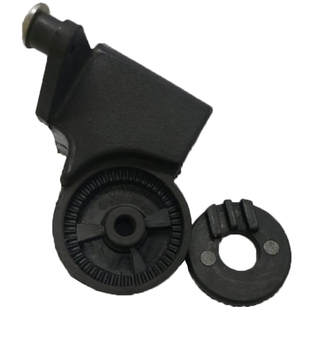 Suporte do Ventilador Solaster 60/65/70cm Acapulco Veneza - Mecanismo Suporte Oscilante do Motor - Plástico Preto - Modelo Atual 60/65/70cm