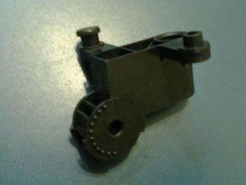 Mecanismo do Oscilante - Suporte do Motor do Ventilador VentiSol G3 50/60 Preto