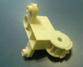 Mecanismo do Oscilante - Suporte do Motor do Ventilador Ventisol 50/60 Branco