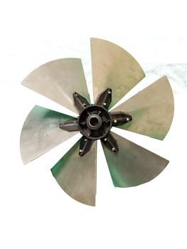 Helice para Exaustor VENTISILVA 30cm 6Pas - Encaixe Eixo 16 mm com Parafuso Lateral - Exaustor E30M4