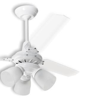 Pá Hélice para Ventilador de Teto Loren Sid Lumi M3 - Pá Plástica Reta Acrílica P09I/TR - Vendida p/