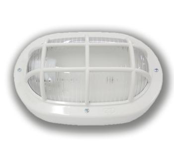 Luminária Tartaruga Oval Branca Resistente a alta temperatura 23w /25w 250v