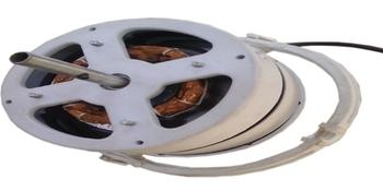 Motor do Ventilador de Teto Loren Sid Orbital 40cm 127v Branco - c/Capacitor 06/6,50uF 440VAC - Eixo