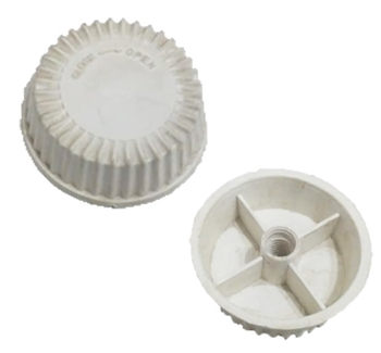 Porca da Hélice Ventilador Ventisol - Porca da Hélice Ventilador Primavera - Plástica Branca - Rosca