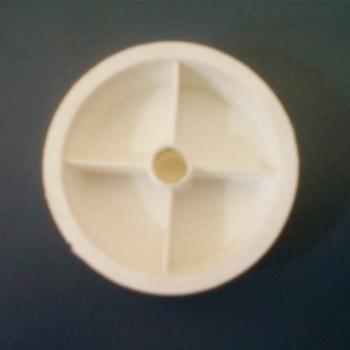 Porca rosca Esquerda Ponta do Eixo Hélice Ventilador Ventisol Branco - Modelo Anterior