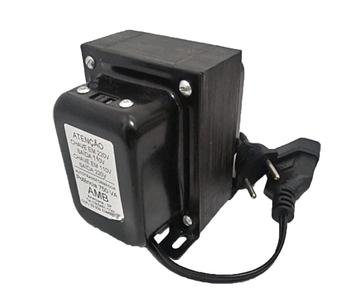 Auto Transformador De Voltagem Universal 750 VAC Bivolts AMB - 60Hz c/Chave Seletora de Voltagens 11
