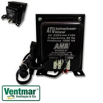 Auto Transformador de Voltagem 1.500VA AMB Bivolts - Transformador de Voltagem para Ar Condicionado