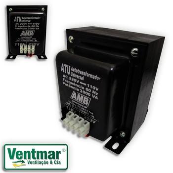 Auto Transformador de Voltagem 3.000va AMB Bivolts - Transformador de Voltagem para ar Condicionado