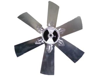Hélice para Exaustor VENTISILVA 50 cm 6Pás - Encaixe Eixo 17 mm com Parafuso Lateral - E50M4 E50M6 E