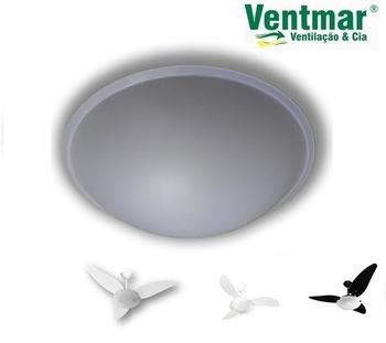 Globo Cúpula Plástica para Ventilador de Teto Venti-Delta - DELTA MAGNES DUNA - Globo MC2-300MM GLOB