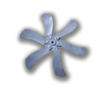 Helice para Climatizador Joape Fortaleza - Joape 777 - 50cm 6Pas Cinza Diametro Externo 52cm